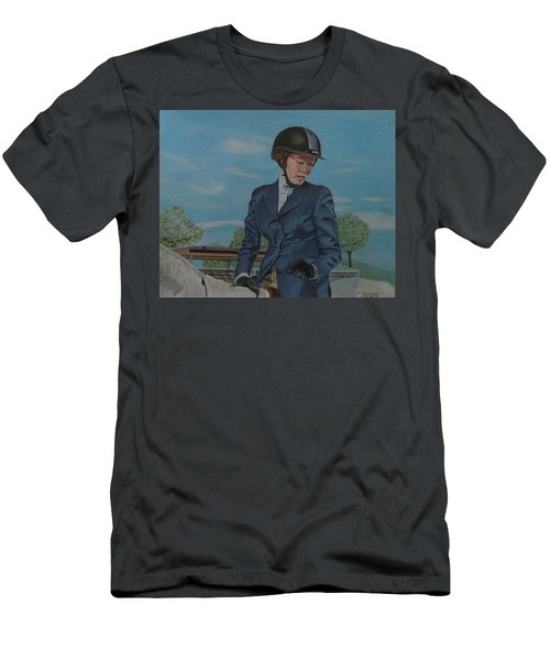 Horseshow Day Men's T-Shirt (Athletic Fit)