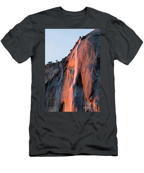 Horsetail Falls 2 Men's T-Shirt (Athletic Fit)