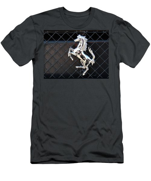 Men's T-Shirt (Athletic Fit) featuring the photograph Horsey by John Schneider