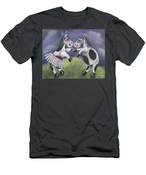 Horsing Around Men's T-Shirt (Athletic Fit)