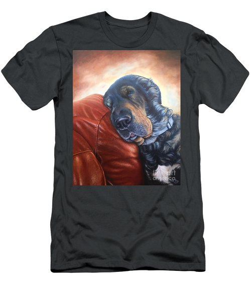 Hoss Men's T-Shirt (Slim Fit) by Mike Ivey