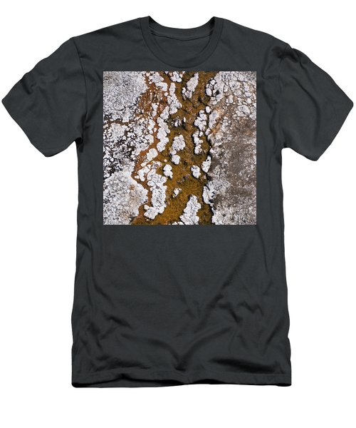 Hot Cascades Abstract Men's T-Shirt (Athletic Fit)