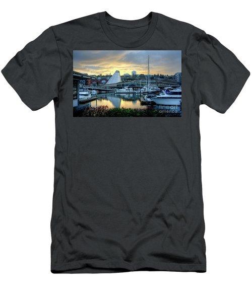 Hot Shop Cone Cloudy Twilight Men's T-Shirt (Athletic Fit)