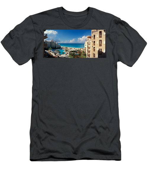 Hotel At The Coast, The Ritz-carlton Men's T-Shirt (Athletic Fit)
