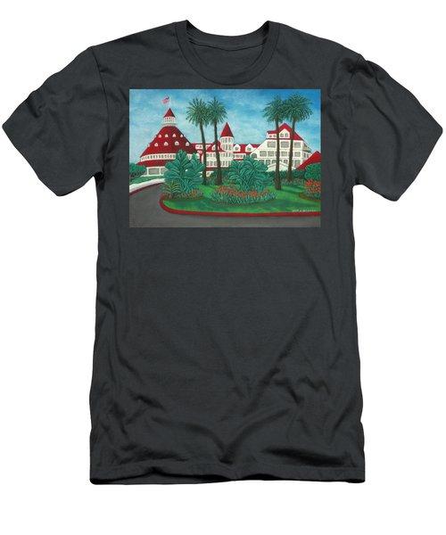 Hotel Del Coronado Men's T-Shirt (Athletic Fit)