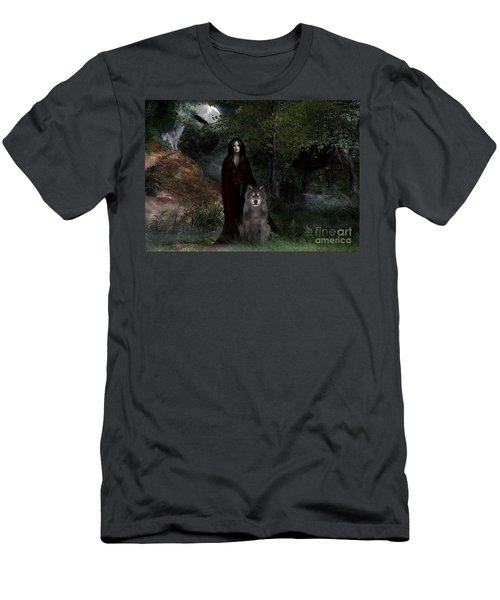 Hour Of The Wolf Men's T-Shirt (Athletic Fit)