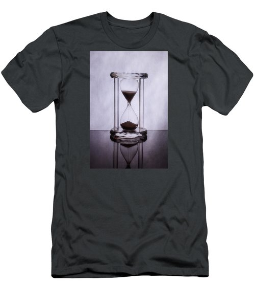 Hourglass - Time Slips Away Men's T-Shirt (Athletic Fit)