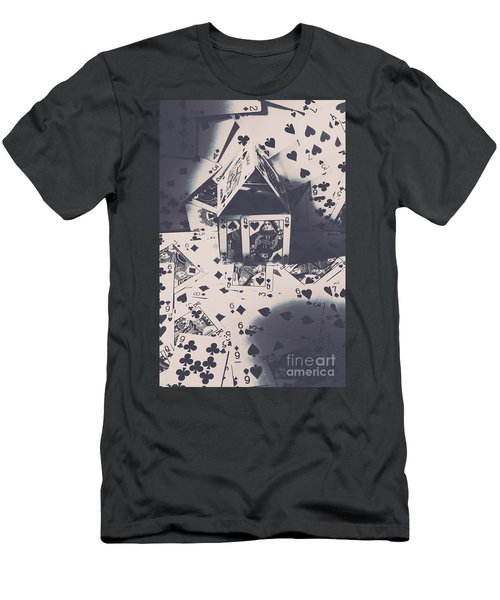 House Of Cards Men's T-Shirt (Athletic Fit)