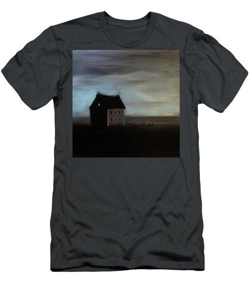House On The Praerie Men's T-Shirt (Slim Fit) by Tone Aanderaa