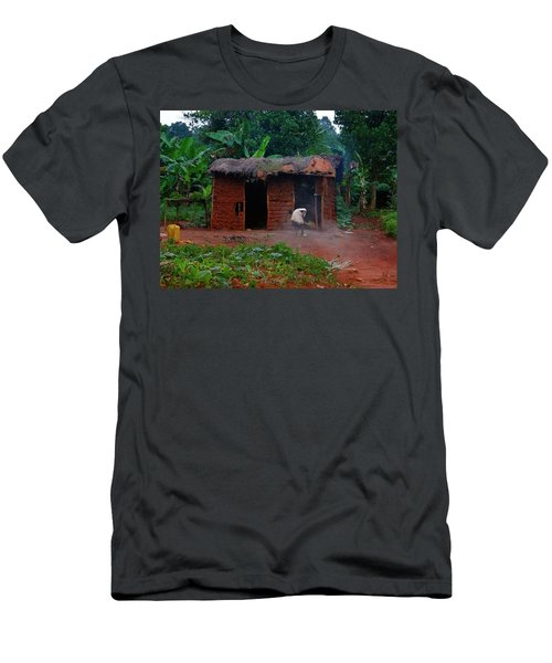 Housecleaning Africa Style Men's T-Shirt (Slim Fit) by Exploramum Exploramum