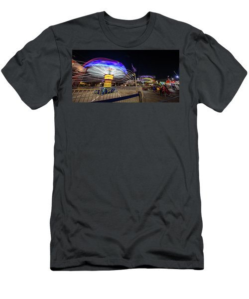 Houston Texas Live Stock Show And Rodeo #10 Men's T-Shirt (Slim Fit) by Micah Goff