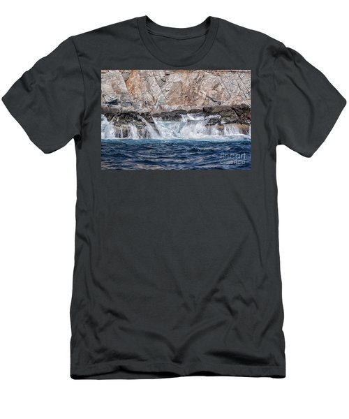 Huatulco's Texture Men's T-Shirt (Athletic Fit)