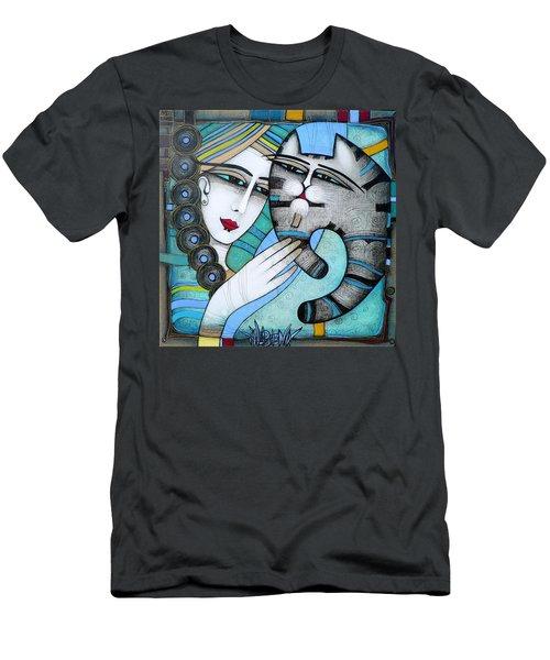 hug Men's T-Shirt (Athletic Fit)