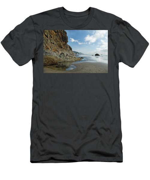 Hug Point Beach Men's T-Shirt (Athletic Fit)