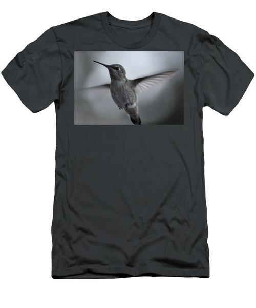 Men's T-Shirt (Slim Fit) featuring the photograph Hummm by Cathie Douglas