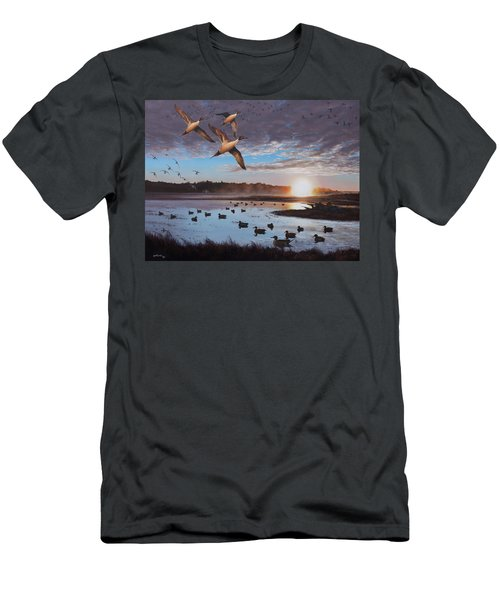 Humphrey Farm Pintails Men's T-Shirt (Athletic Fit)