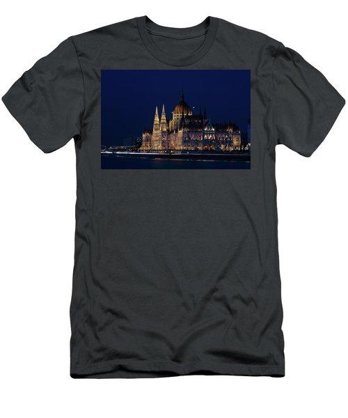 Hungarian Parliament Building #1 Men's T-Shirt (Athletic Fit)