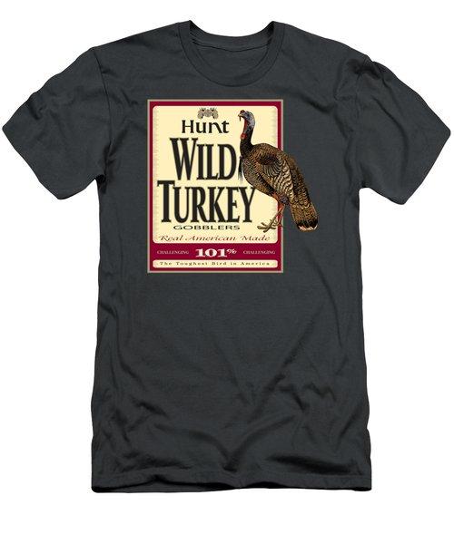 Hunt Wild Turkey Men's T-Shirt (Athletic Fit)