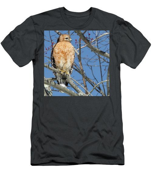 Men's T-Shirt (Slim Fit) featuring the photograph Hunter Square by Bill Wakeley