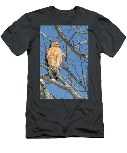 Men's T-Shirt (Slim Fit) featuring the photograph Hunting by Bill Wakeley
