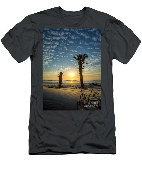 Hunting Island State Park Beach Sunrise Men's T-Shirt (Athletic Fit)