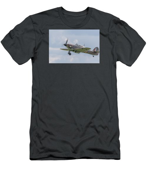 Hurricane Taking Off Men's T-Shirt (Athletic Fit)