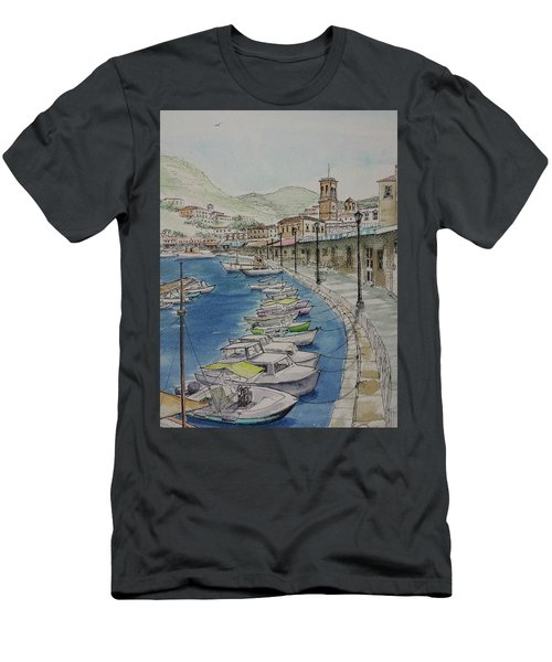 Hydra Clock Tower Men's T-Shirt (Athletic Fit)