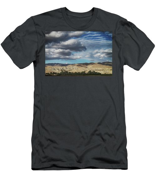 I Almost Touched The Clouds Men's T-Shirt (Athletic Fit)