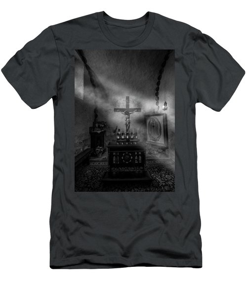 Men's T-Shirt (Athletic Fit) featuring the photograph I Am The Light Of The World by David Morefield