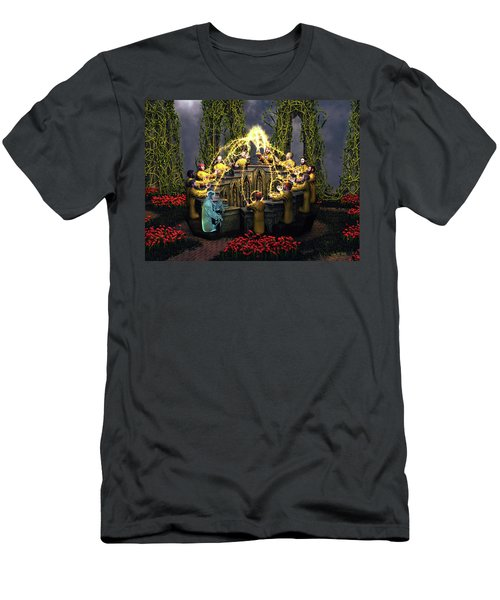 I Am The Vine - You Are The Branches Men's T-Shirt (Athletic Fit)