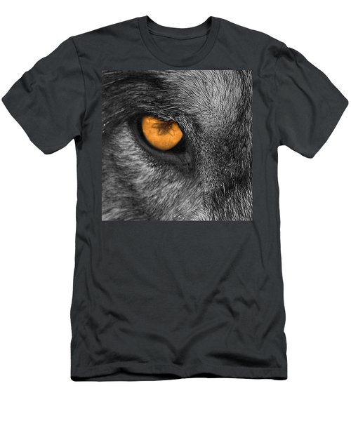 I Am Wolf Men's T-Shirt (Athletic Fit)