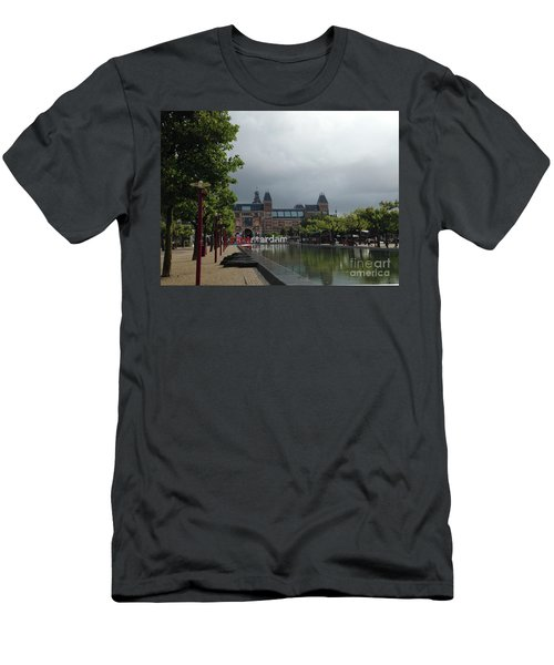 I Amsterdam Men's T-Shirt (Slim Fit) by Therese Alcorn