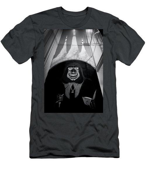 I C B M Mural Men's T-Shirt (Athletic Fit)
