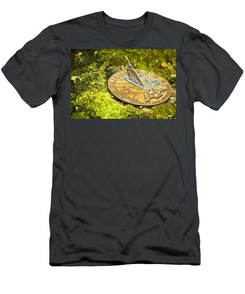 Men's T-Shirt (Athletic Fit) featuring the photograph I Count None But Sunny Hours by Carolyn Marshall
