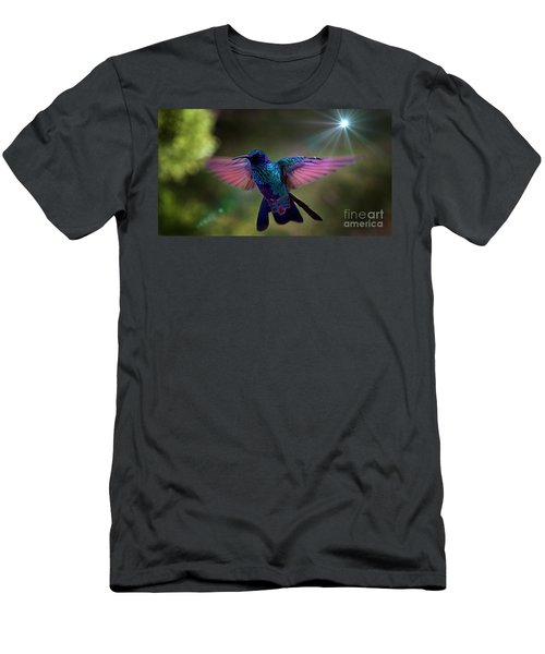 Men's T-Shirt (Slim Fit) featuring the photograph I Love Tom Thumb by Al Bourassa