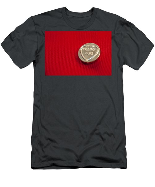 I Love You Men's T-Shirt (Athletic Fit)