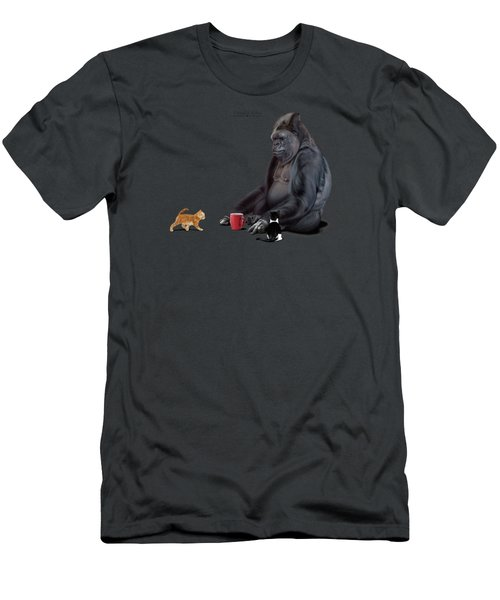 I Should, Koko Men's T-Shirt (Slim Fit) by Rob Snow