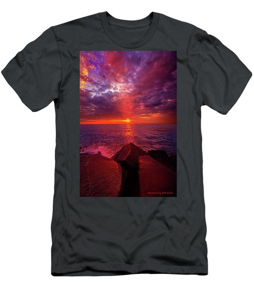 Men's T-Shirt (Slim Fit) featuring the photograph I Still Believe In What Could Be by Phil Koch
