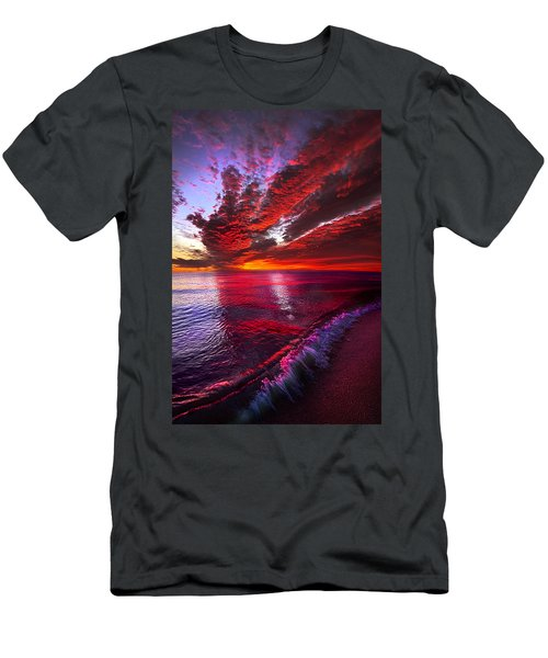 I Wake As A Child To See The World Begin Men's T-Shirt (Athletic Fit)