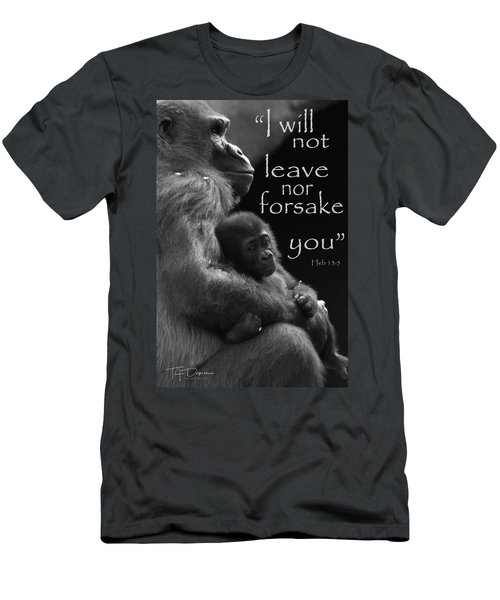 I Will Not Leave Nor Forsake You Men's T-Shirt (Athletic Fit)