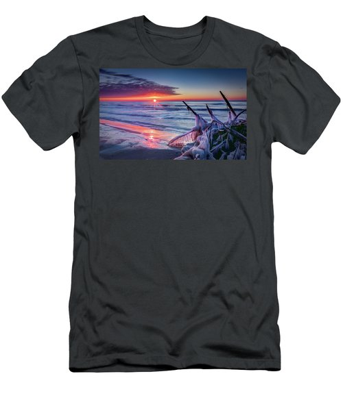 Ice Age Sunrise 1 Men's T-Shirt (Athletic Fit)