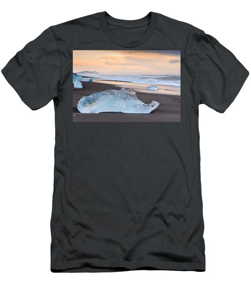Ice Beach Men's T-Shirt (Athletic Fit)