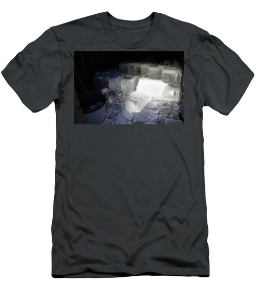 Ice Blocks In House Men's T-Shirt (Athletic Fit)