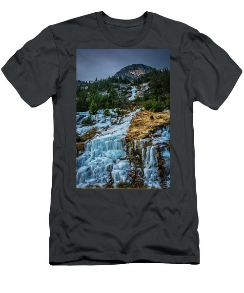 Ice Fall Men's T-Shirt (Athletic Fit)