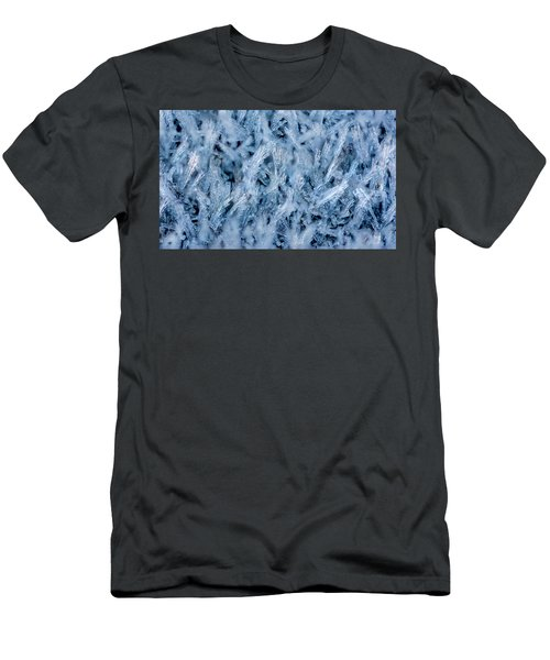 Ice Grass Growing Men's T-Shirt (Athletic Fit)