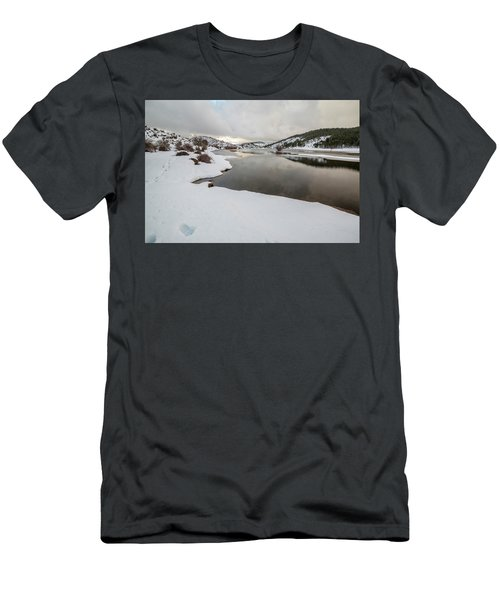 Ice In The River Men's T-Shirt (Athletic Fit)