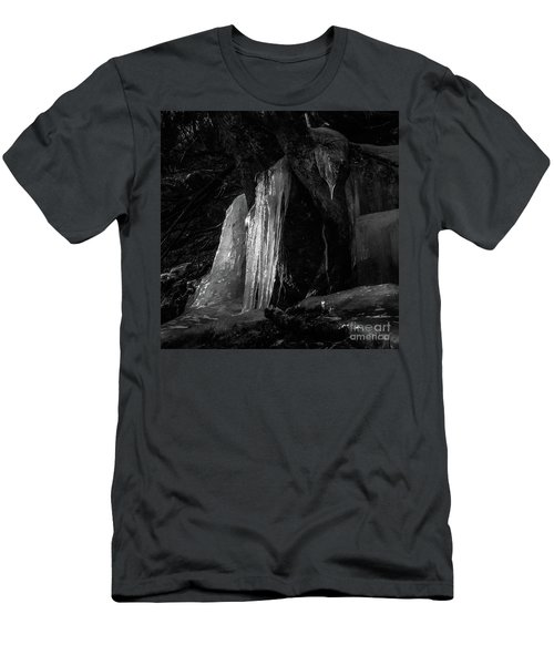 Icicle Of The Forest Men's T-Shirt (Slim Fit) by Tatsuya Atarashi