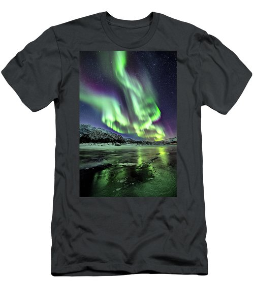 Ice Reflection I Men's T-Shirt (Athletic Fit)