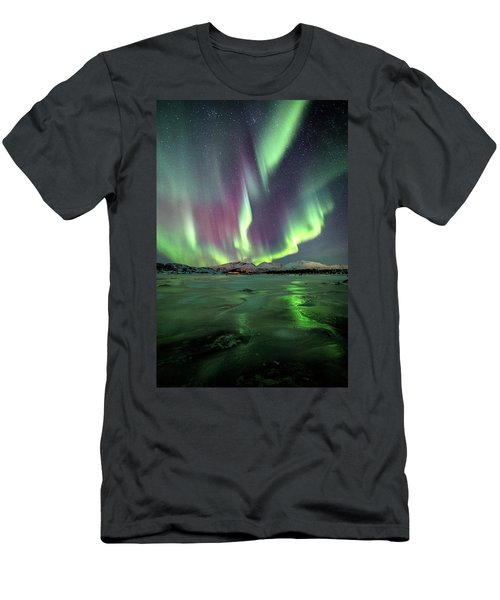 Ice Reflection II Men's T-Shirt (Athletic Fit)