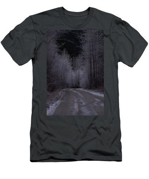 Ice Road Men's T-Shirt (Athletic Fit)
